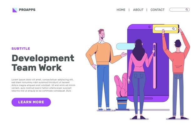 app-development-landing-page-design_23-2148670670